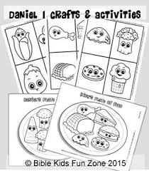 Daniel Activities And Crafts Game Cards Of Daniels Food The Kings Craft Bible