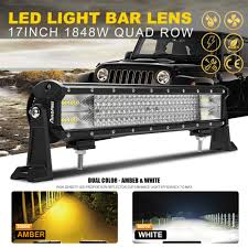 10D 17INCH 1848W CREE LED Light Bar Combo Quad Rows Truck UTE 4WD ... Round Led Truck And Trailer Lights 4 Braketurntail W Where To Buy 12v White Light Strips For Cars 60 Redline Tailgate Light Bar Tricore Weatherproof Rigid Industries Bed Kit 6 Boogey Km 12 Crossfire Tlcf12 Bars Accent 8pc Supply Lightbar Install On The Old Youtube Nilight Led 2pcs 18w Spot Driving Fog Off Road Truxedo Blight Lighting System Beds Hardwired Vehicle Ecco Worklamps