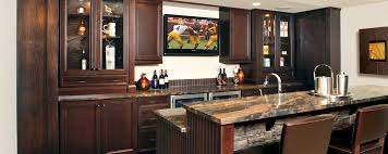 Huntwood Cabinets Arctic Grey by Warm And Inviting Bar Custom Cabinets
