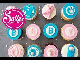 baby cupcakes mädchen und junge boy baby cupcakes sallys welt