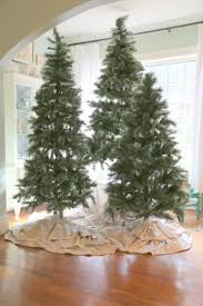 I Would Love To Do A Grouping Of Christmas Trees One With White Lights