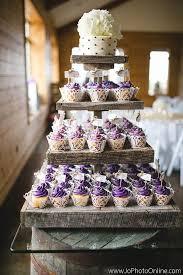 Totally Unique Wedding Cupcake Ideas See More Weddingforward StandsRustic