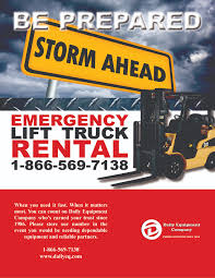 100 Truck Rental Company Emergency Lift Daily Equipment Daily