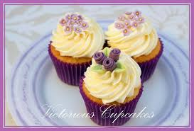 Purple Rose Mothers Day Cupcakes