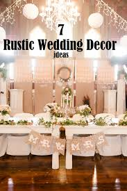 7 Rustic Wedding Decor Ideas