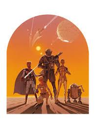 La Ca 1218 Star Wars Art Posters 545