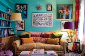 Rustic Bohemian Living Room Neutral