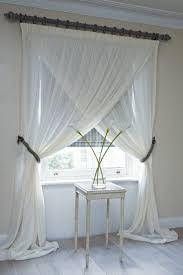fenstergestaltung gardinen dekorationsvorschläge wohnzimmer