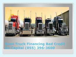 100 Truck Financing For Bad Credit Semi Go Capital 855 3963600 By