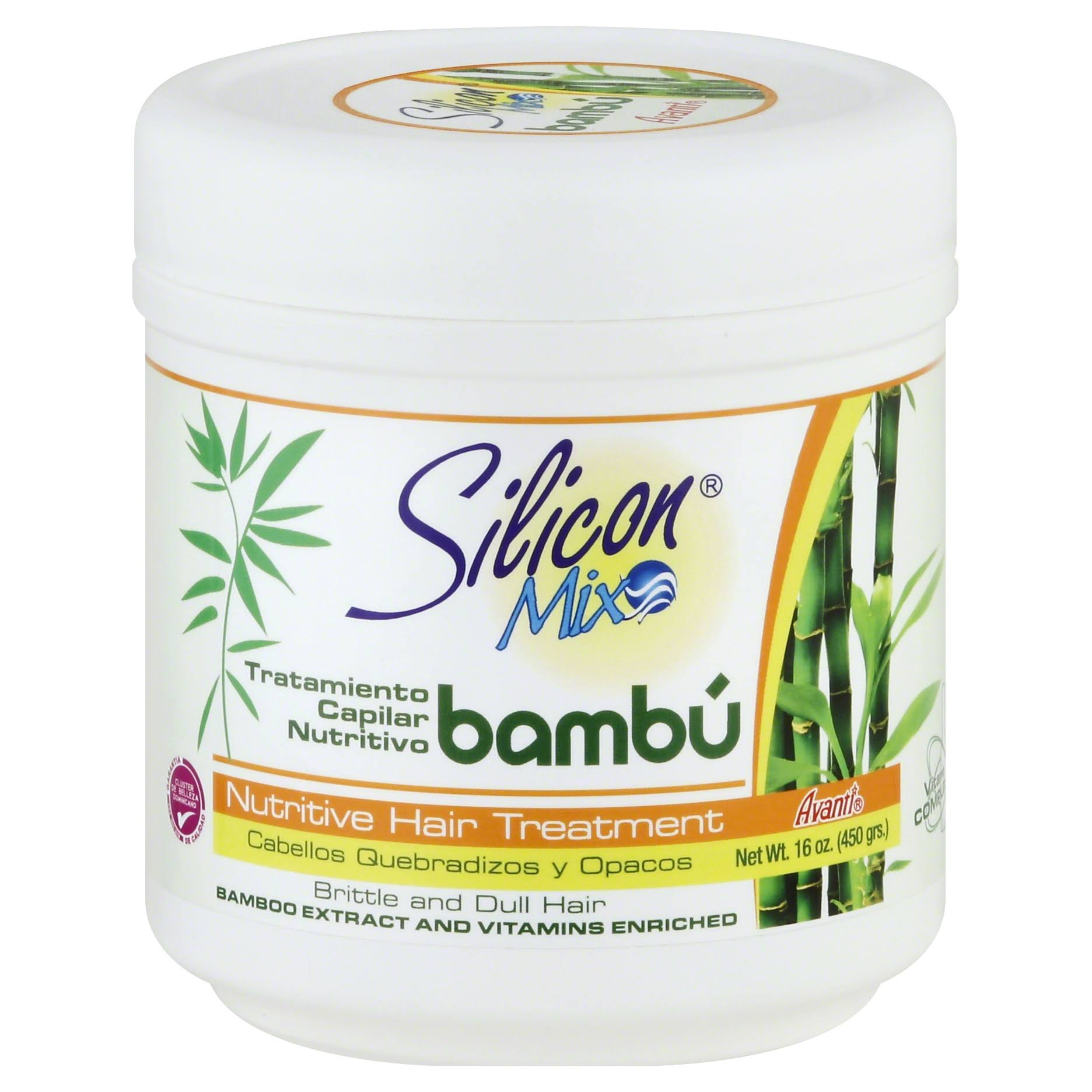 Silicon Mix Bambu Nutritive Hair Treatment - 470ml