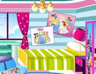 Cinderella Style Room Decoration