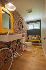 Gray And Yellow Bathroom Decor Ideas by Trendy And Refreshing Gray And Yellow Bathrooms That Delight