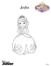 Sofia The First Coloring Book Pages Princess Page Mini Books To Print