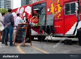 100 Atlanta Food Trucks ATLANTA GA OCTOBER 16 Customers Wait Stock Photo Edit Now