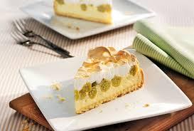 stachelbeer torte mit baiserhaube