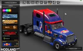 Freightliner Coronado. Modified + Skins + Trailer (1.31) Mod For ...