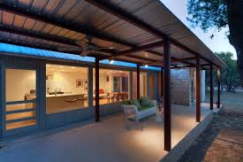 Patio covers patio contemporary with porch corrugated metal siding