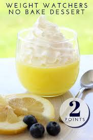 Weight Watchers Pumpkin Fluff Smartpoints by Lemon Weight Watchers Dessert Recipe Lemon Dessert Recipes