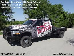 For Sale - 2010 Ram 3500 Quad Cab Flatbed 4x4 6 Speed Manual $26,988 ... Used 2012 Ford F150 Svt Raptor Tuxedo Black Truck Tdy Sales Tdy 2018 Super Duty F350 Srw King Ranch 4x4 For Sale In Von Wil Inc Vehicles For Sale In Wharton Tx 77488 Cheap Truck Chevrolet C1500 Silverado 1995 Sold M715 Kaiser Jeep Page Craigslist Dallas Cars And Trucks Pa 2003 F250 Diesel Texas Truck Absolutely Rust 1979 Classics On Autotrader Suzuki Carry 4x4 Mini Street Legal Youtube Tricked Out New 2014 Ops Edition Call Troy Lifted 44 Wv