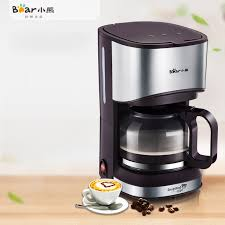 2017 New Brand Bear Automatic Electric Coffee Maker 700ml High Quality Portable Drip American