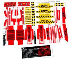 100 Custom Stickers For Trucks CUSTOM STICKERS For Lego 8258 CRANE TRUCK UNIQUE CUSTOM PLAQUE