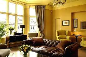 Yellow Painted Living Room Paint Color Great With