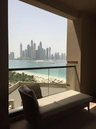 100 Skyward Fairmont The Palm Hotel Dubai View From Room Terrace To