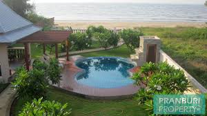 100 Absolute Beach Front Beach Front 4 Bedroom House On 1 Rai With Nice Pool
