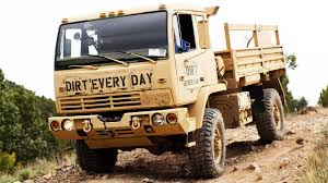 100 Surplus Trucks Go On This Army Truck Adventure With The Team At