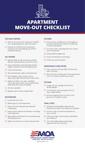 Printable First Apartment Essentials Checklist Household Items For Preparing To Move Out Of Your Aaoa