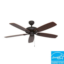 Home Depot Ceiling Fans by Sahara Fans Charleston 52 In Bronze Energy Star Ceiling Fan 10032