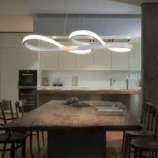 zmh led pendelleuchte esstisch weiß hängele wohnzimmer 47w dimmbar mit fernbedienung esstischle für esszimmer pendelle kronleuchte