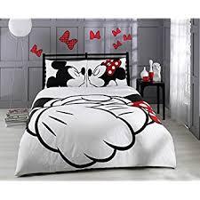 amazon com 100 cotton comforter set 5 pcs full queen size disney