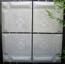 Antique Ceiling Tiles 24x24 by 79 Best Antique Tin Ceiling Tiles In Whites Images On Pinterest