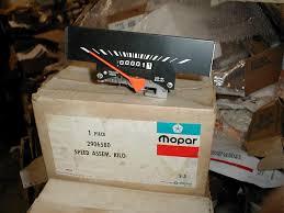 100 71 Dodge Truck NOS Mopar Speedometer 1969 D W Export Models