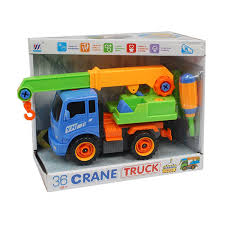 Kirpalani's N.V. - Crane Truck Set With Tools - Vehicles - Toys ...