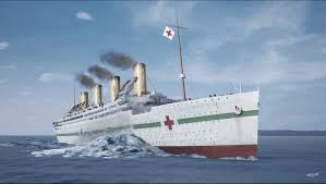 Sinking Of The Britannic Youtube by Hmhs Britannic Titanic U0027s Sister Ship Sinking Video In Real Time