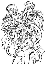 Coloring Pages Mermaid Melody 17