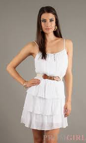 white casual summer dresses