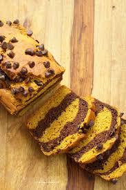 Healthy Chocolate Pumpkin Desserts by Marbled Turmeric Pumpkin Chocolate Bread Vegan Richa