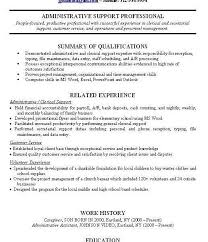Job Experience Resume Examples With No Work Within Professional Sample