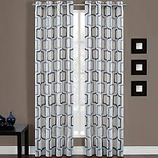 Bed Bath And Beyond Curtain Rod Rings by Portinari Grommet Top Window Curtain Panel Bed Bath U0026 Beyond