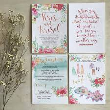 53 Best Neutral Beach Theme by A Floral Beach Themed Wedding Invite Suite Watercolorinvite