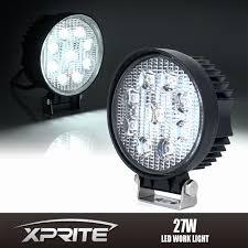 100 Led Work Lights For Trucks For 27w 9 Round Flood Light Lamp