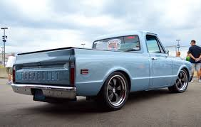 Randy Johnson's D&Z Customs 1968 Chevy C10 Shop Truck On Forgeline ... 1968 Chevy Shortbed Pickup C10 Pick Up Truck 454 700r4 4 Speed Auto Lowered Chevy 50th Anniversary Pickup Muscle Truck Like Gmc Hot Rod Spuds Garage Short Bed Restomod For Sale Patina Trick N Rod Chevrolet Stepside Fully Restored Clean Az For 1967 1969 C K 1970 1971 1972 Trucksncars C50 Dump Truck Has Remained In The Family Classic Work Smart And Let The Aftermarket Simplify