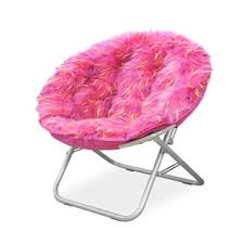 faux fur saucer chair free shipping today overstock com 20232560