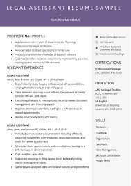 Legal Assistant Resume Example & Writing Tips | Resume Genius Resume For Research Assistant Sample Rumes Interns For Entry Level Clinical Associate Undergraduate Assistant Example Executive Administrative Labatory Technician Free Lab Examples By Real People Market Objective New Teacher Aide No Experience Elegant Luxury Psychology Atclgrain Biology Ixiplay