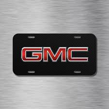 GMC VEHICLE LICENSE Plate Front Auto Tag Plate Black Carbon Fiber ... F150 Marketer Talks Future Ford Trucks Carbon Fiber Flowmaster Exhaust Tips Forum Community Look Uv Graphic Metal Plate On Abs Plastic Onk Food Truck Wrap With Detail Car City Revolution Wraps Killerbody 110 Electric Moster Finished Body Shell Rubik Gms Latest Weapon In Pickup Wars Wsj Gm To Feature Beds Report Elegant Of 2019 Fibre Dump Tray Youtube Fiber Fenders Painted Hood Headlight Surrounds And Mirror