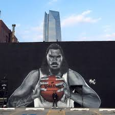 new zealand artist creates massive steven adams mural in okc via