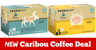 Caribou Coffee K Cup Pods Coupons And Stock Up Deal At Giant Eagle
